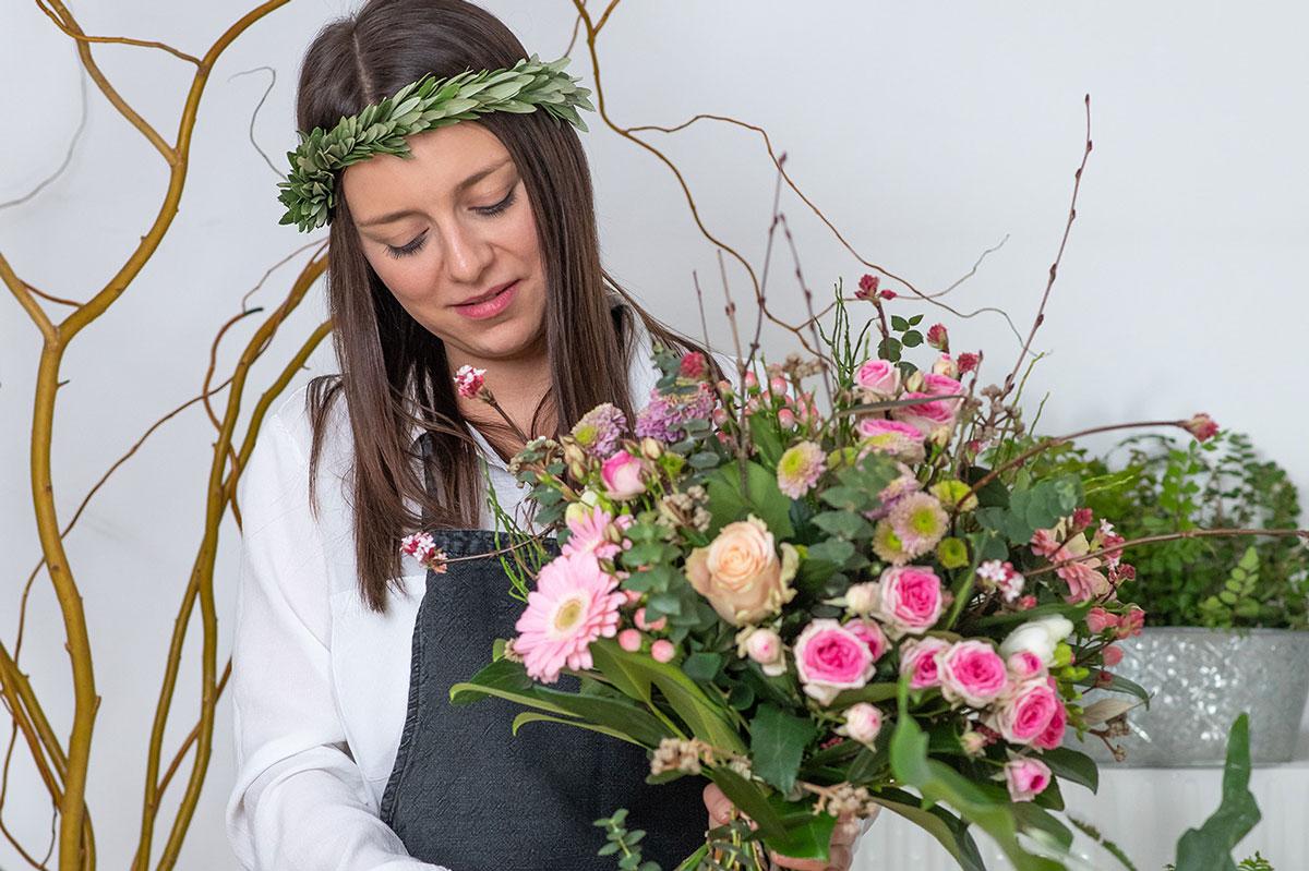 Blumenstrauß binden – 5 Tipps von der Floristin